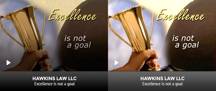 Excellence is Not a Goal