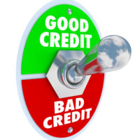 A good:bad credit switch