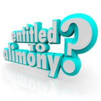 Entitled to alimony