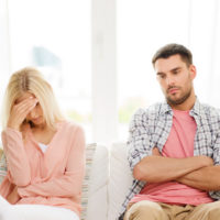 Unhappy divorced couple are still roommates