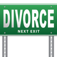 Signs for a divorce