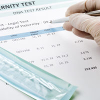DNA test is part of the process of establishing paternity